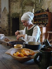 Medieval Food Preparation, Kitchens and Vendors