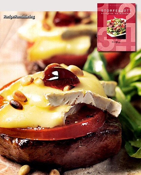 Steaks with Brie