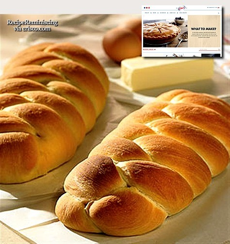 Braided Egg Bread / Flettebrød med Egg