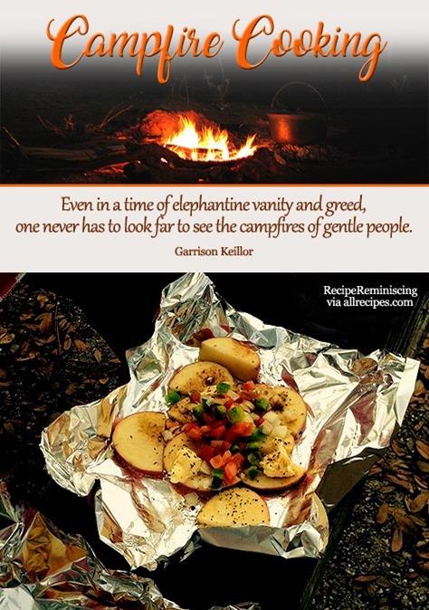 Campfire Potatoes / Bålbakte potetskiver