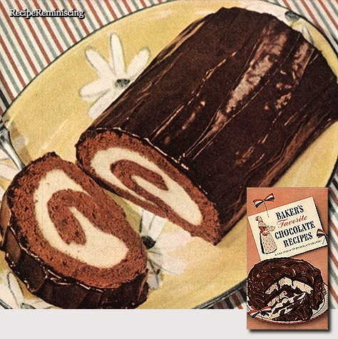 Chocolate Roll / Sjokoladerull