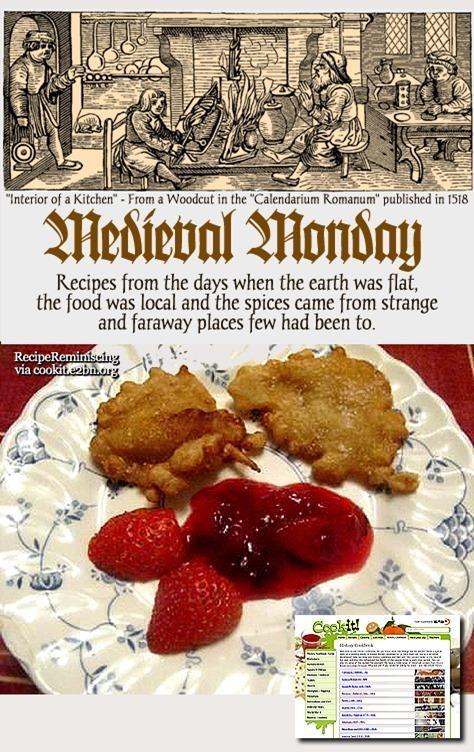 Cryspez -  Medieval Pancakes / Pannekaker som i Middelalderen