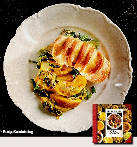 Sausage with Curried Apples