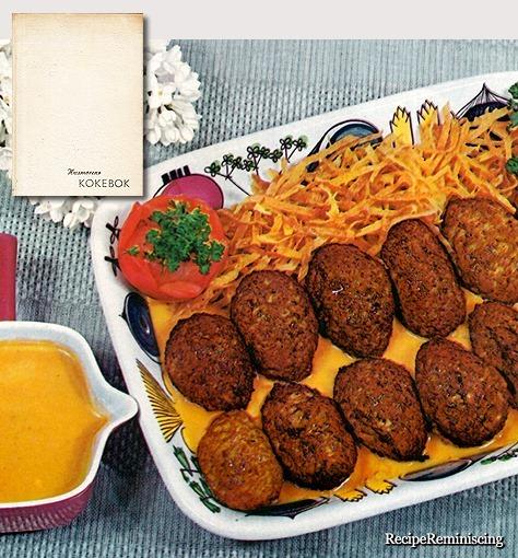 Frikadelles with Tomato Sauce