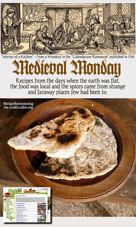 Medieval Monday – Gridle Bread / Takkebrød