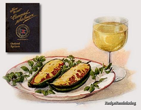 Grønn Paprika med Laksefyll