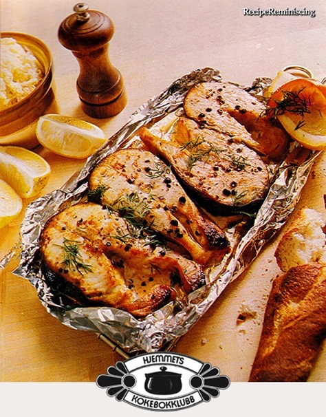 Grilled Salmon Slices