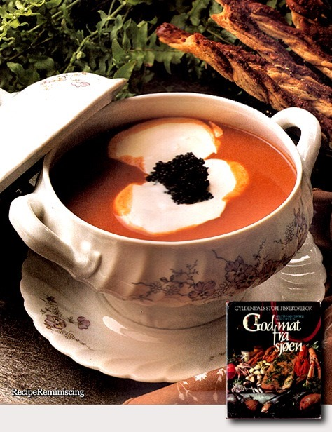 Lobster Soup «Moscovitt» with Black Caviar