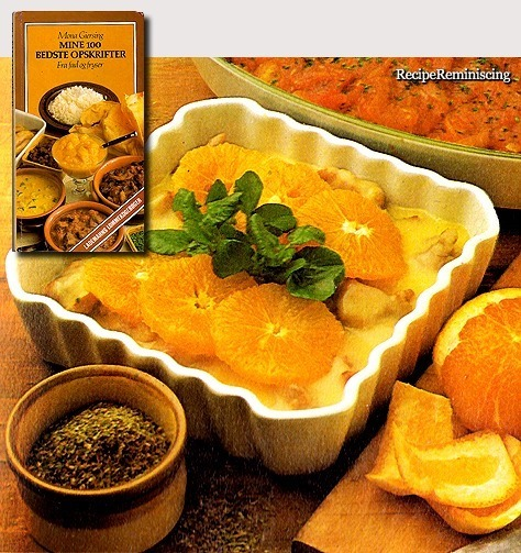 Veal Stew with Oranges / Kalvegryde med Appelsin