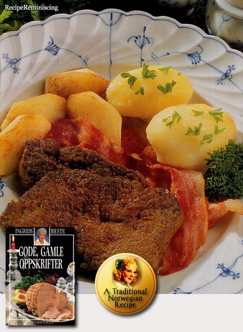 Liver with Apples and Bacon