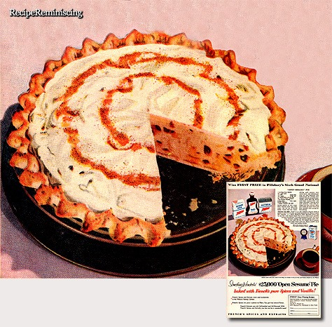 'Open Sesame' Pie