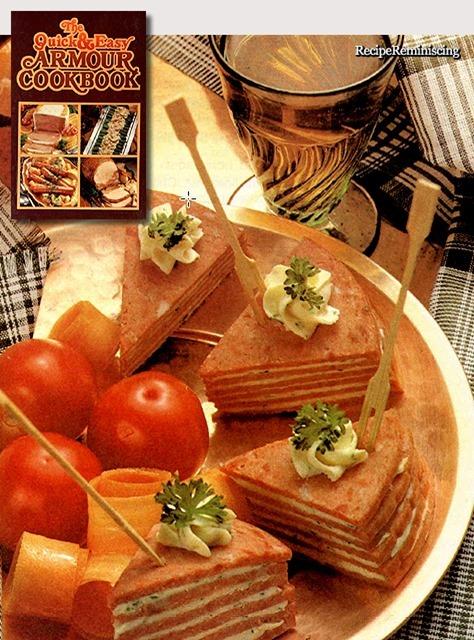 Savory Salami Wedges / Velsmakende Salamitrekanter