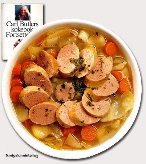 Traditional Swedish Cabbage Soup / Tradisjonell Skånsk Kålsuppe
