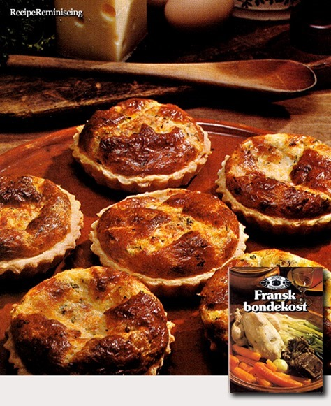 Tartelettes au Fromage - Small Cheese Tarts