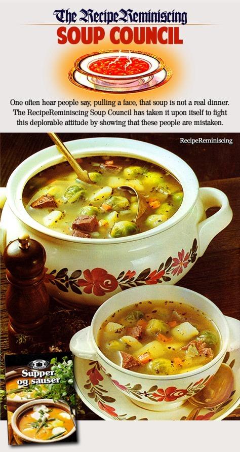 Suppelapskaus med Rosenkål