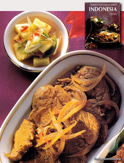 Babi Kecap - Balinese Pork Fillet in Soy Sauce