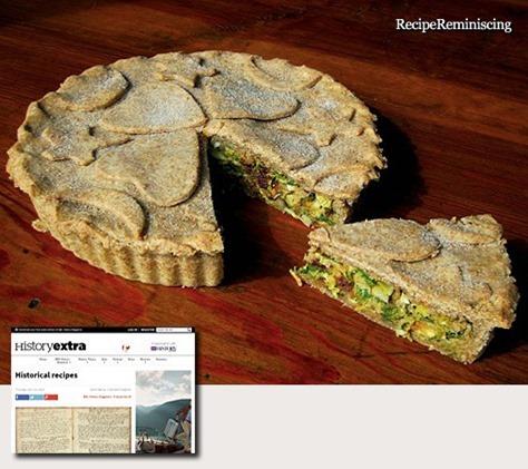 Tudor Vegetable Pie / Grønnsakspai fra Tudortiden