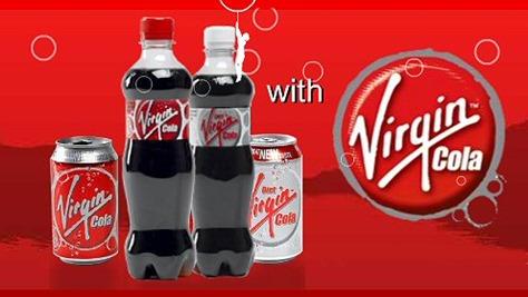 Soda & Soft Drink Saturday - Virgin Cola