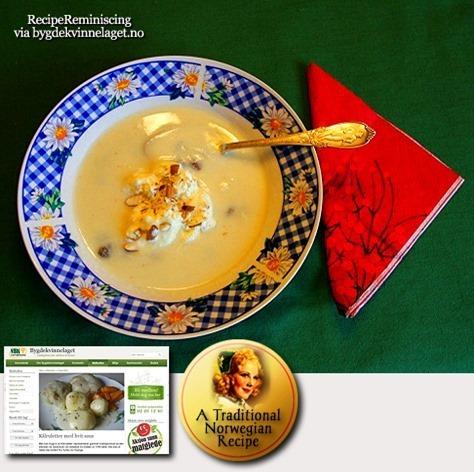 Sour Milk Soup / Surmjølkssuppe