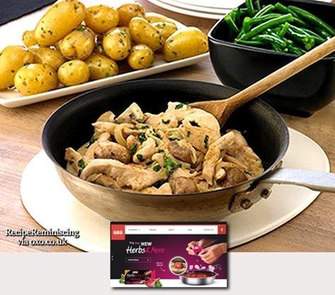 Chicken & Mushroom Stir Fry / Wokket Kylling og Sopp