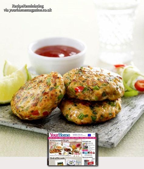 Thai Fish Cakes / Thai Fiskekaker
