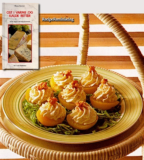 Apricot with Cheese Cream