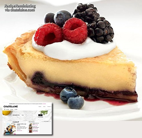 Bakewell Tart / Bakewell Terte