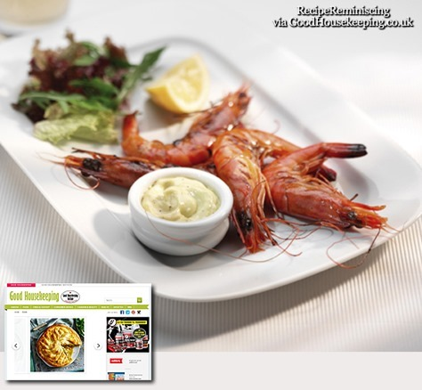 Chargrilled Prawns with Aioli / Trekullgrillede Reker med Aioli