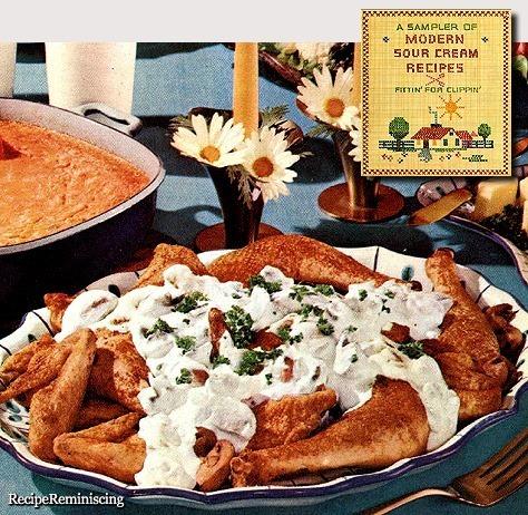 Chicken Stroganoff /Kylling Stroganoff