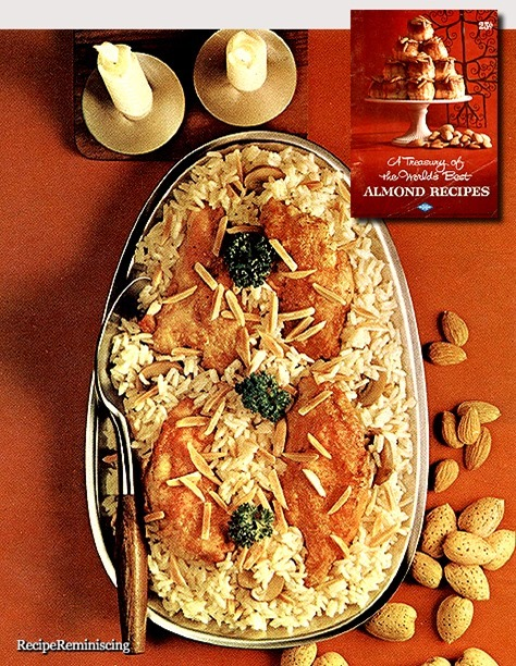Chicken with Almond Rice / Kylling med Mandelris