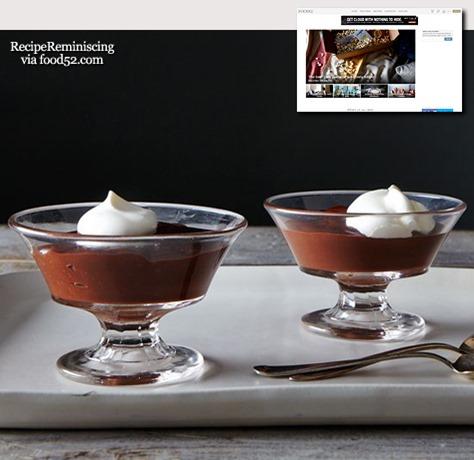 Chocolate Stout Pudding