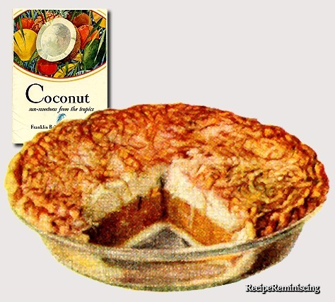 Coconut Butterscotch Pie / Kokos- og Smørkaramellpai