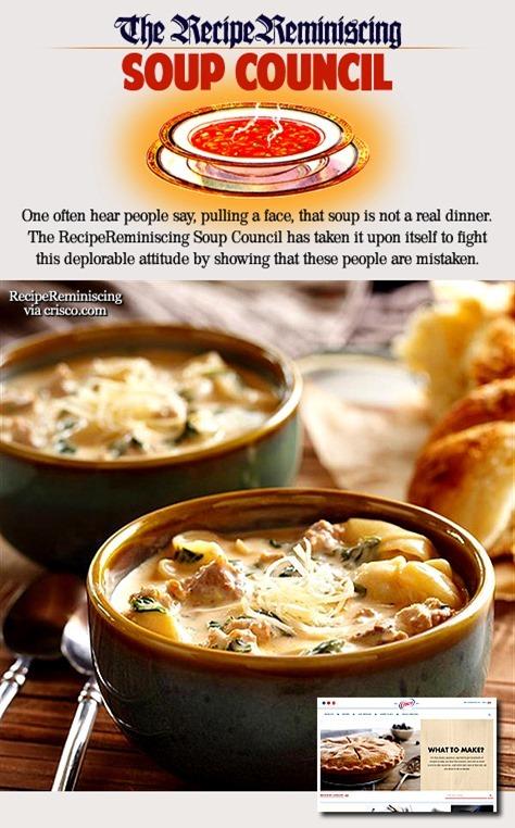 Creamy Sausage Torttellini Soup