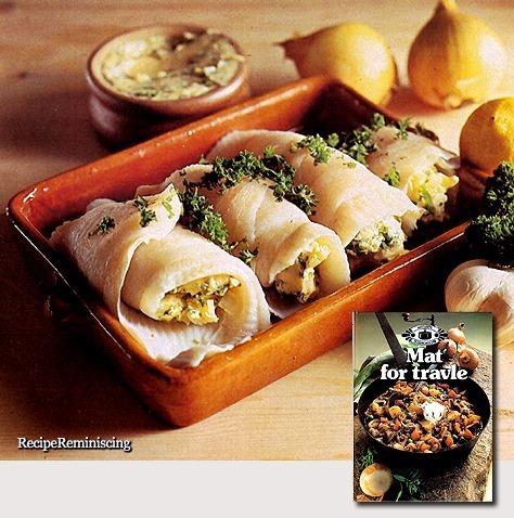 Steamed Fish Fillets with Garlic Butter / Dampkokte Fiskefileter med Hvitløksmør