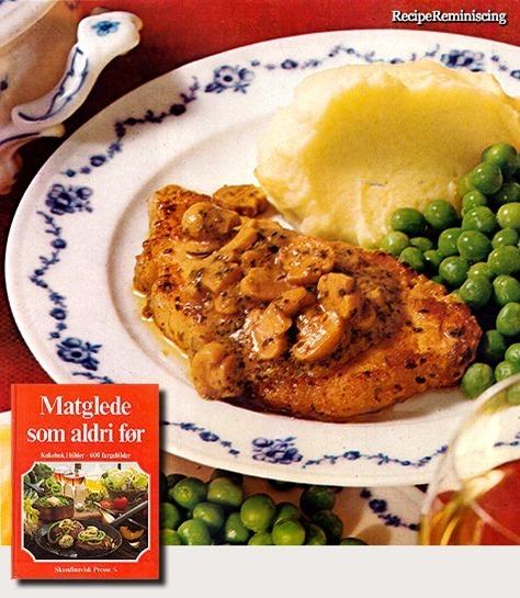English Mustard Steak / Engelsk Sennepsstek