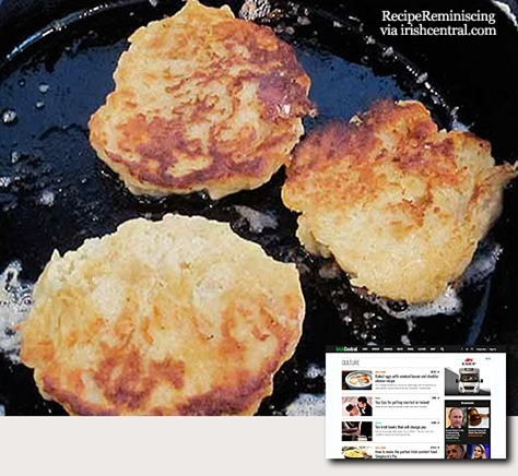 Boxty – Traditional Irish Potato Cakes / Tradisjonelle Irske Potetkaker