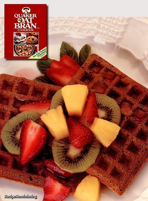 Oat Bran 'n Ginger Waffles