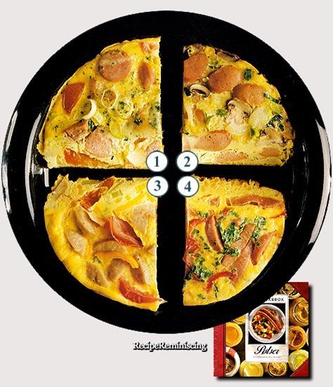 Sausage Omelette Variations