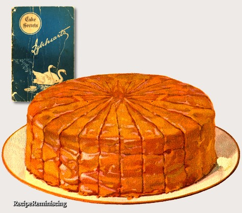 Picnic Caramel Cake