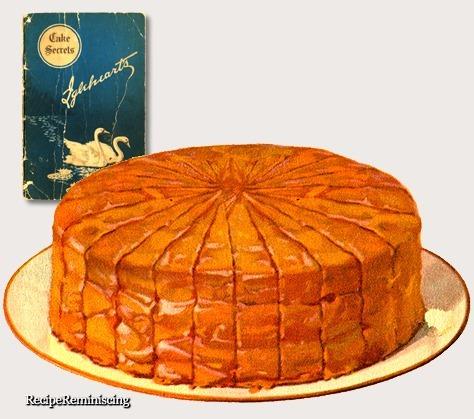 Picnic Caramel Cake / Piknik Karamellkake