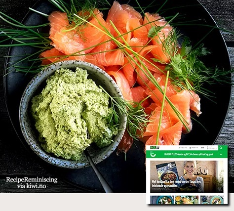 Smoked Salmon with Creamy Herb Pesto