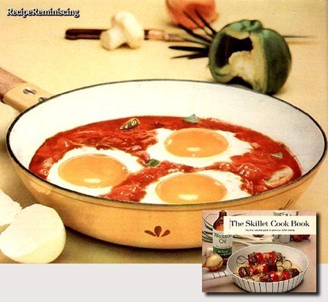 Skillet Eggs Creole / Kreolske Egg Posjert i Panne