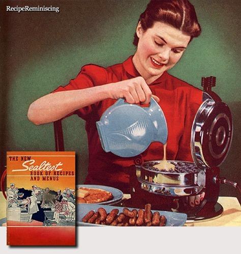 Sour Cream Waffles / Rømmevafler
