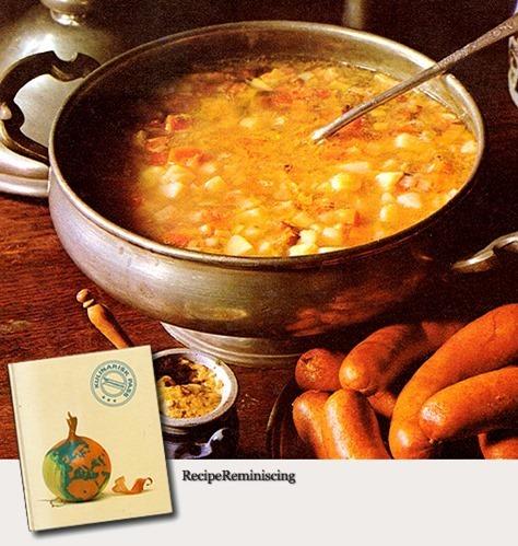 German PotatoSoup / Tysk Potetsuppe