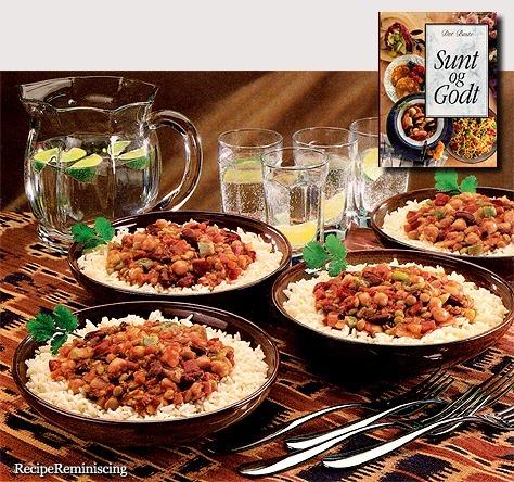 Vegetarian Chili with Rice