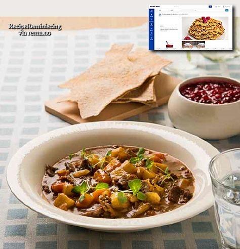 Bidos – Sami Reindeer Soup / Samisk Reinsdyrsuppe