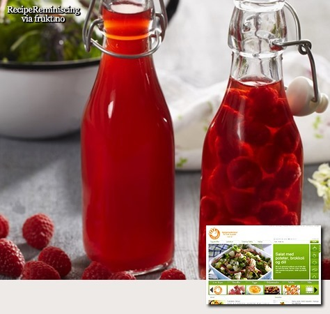 Traditional Norwegian Raspberry Vinegar