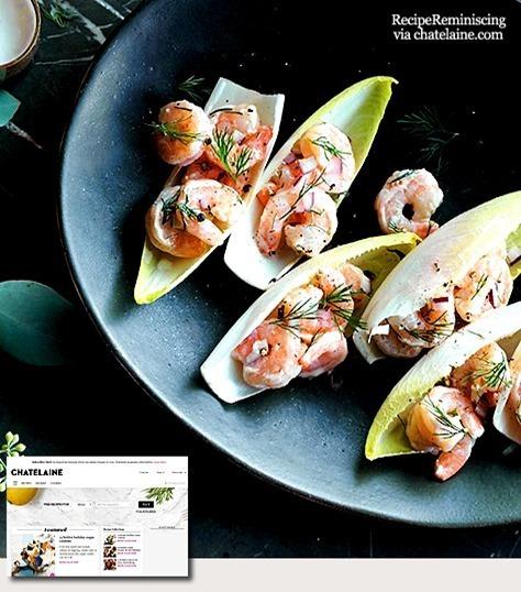 Creamy Shrimp Salad Bites / Kremede Rekesalatmunnfuller
