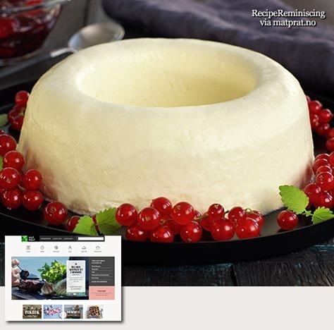 Traditional Norwgian Cream Ring / Fløterand