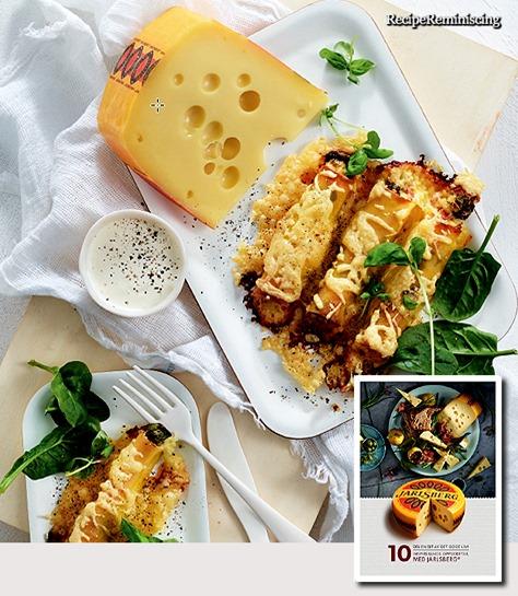 Fylte Cannelloni med Jarlsberg, spinat og prosciutto